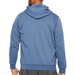 adidas-Big and Tall Mens Long Sleeve Hoodie