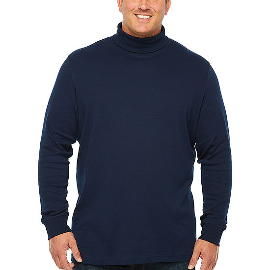 The Foundry Big & Tall Supply Co. Big and Tall Mens Long Sleeve Turtleneck