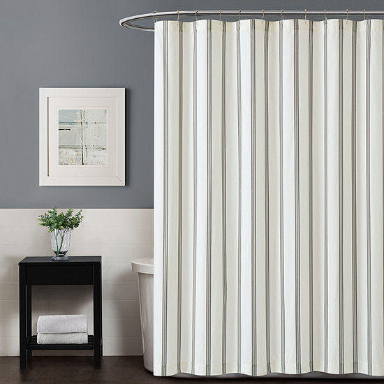 Truly Soft Millenial Stripe Shower Curtain