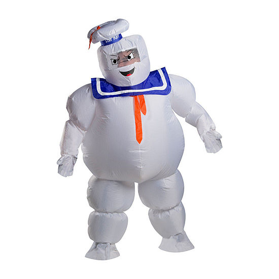 Ghostbusters Adult Stay Puft Inflatable 2-pc. Dress Up Costume Mens