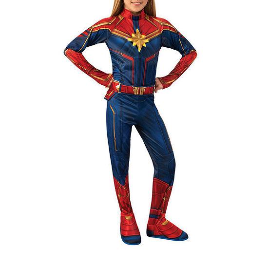 Marvel Captain Marvel Deluxe Light-Up Costume