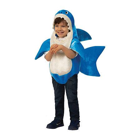 Baby Shark - Daddy Shark Kids Unisex Costume Unisex Costume, Small , Blue