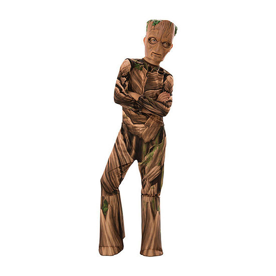 Avengers Endgame Teen Groot Child 4-pc. Dress Up Costume Boys