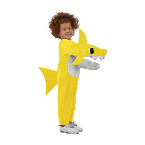 Child Chompin' Baby Shark Costume With Sound Chip Unisex Costume