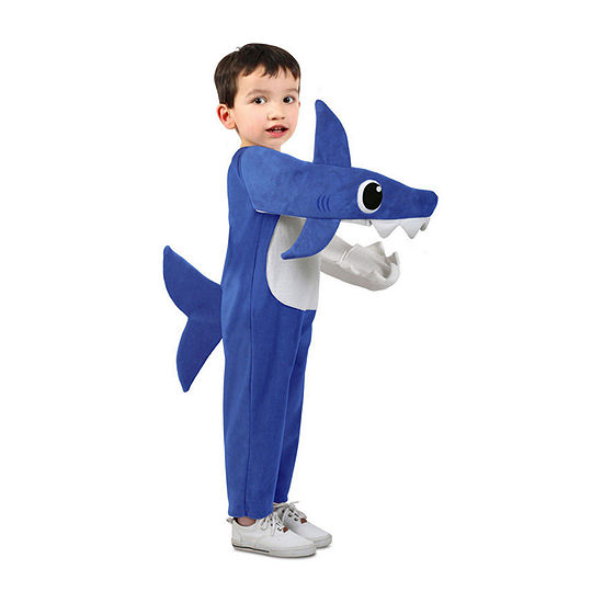 Chompin' Daddy Shark Costume With Sound Chip-Toddler 18-36 Mos. Unisex Costume