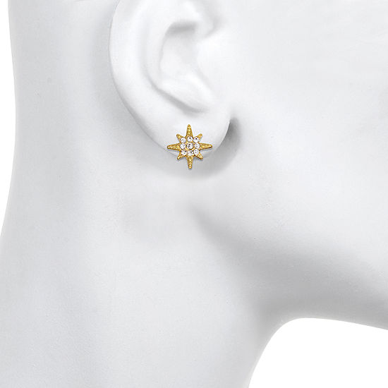Mixit 12.3mm Star Stud Earrings