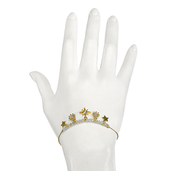 Mixit Gold Tone Star Charm Bracelet