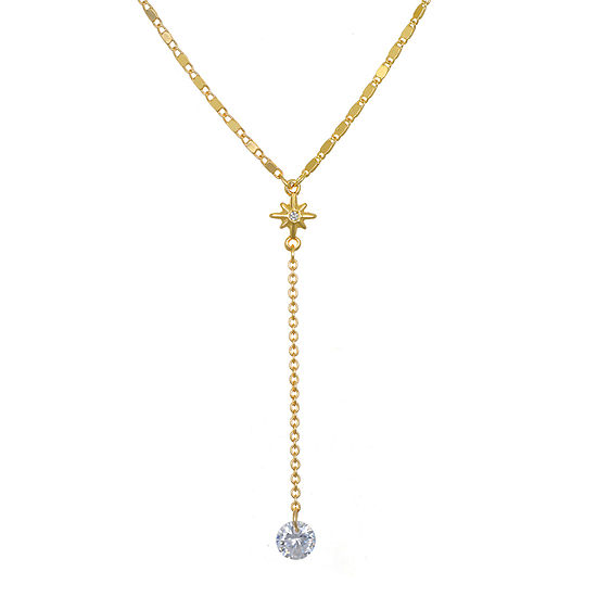 Bijoux Bar Link Star Y Necklace