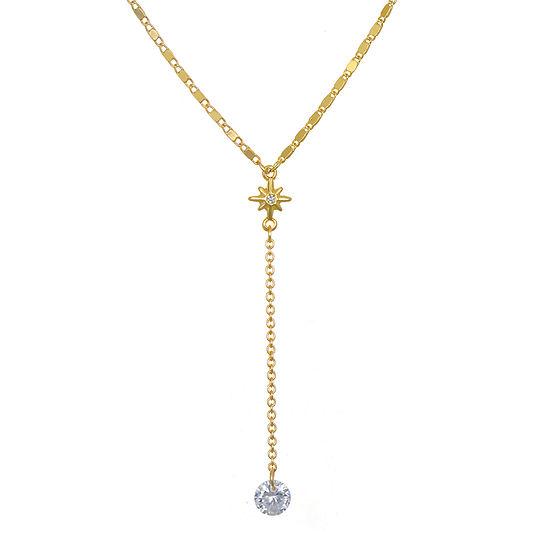 Mixit Link Star Y Necklace