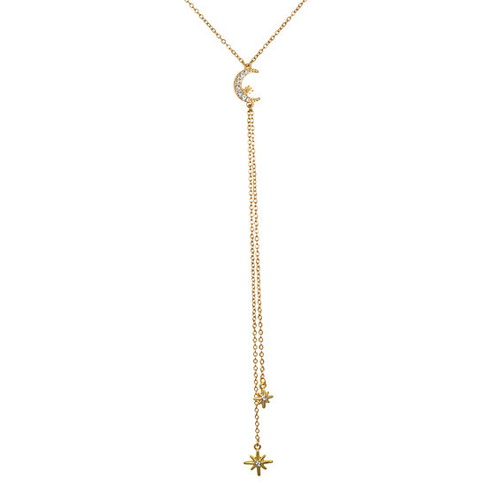 Mixit Link Star Y Necklace