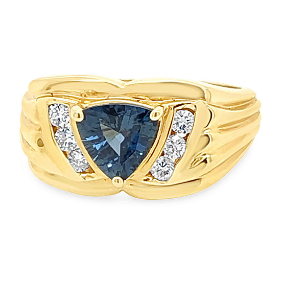 LIMITED QUANTITIES! Le Vian Grand Sample Sale™ Ring featuring Blueberry Sapphire™ set in 14K Honey Gold™