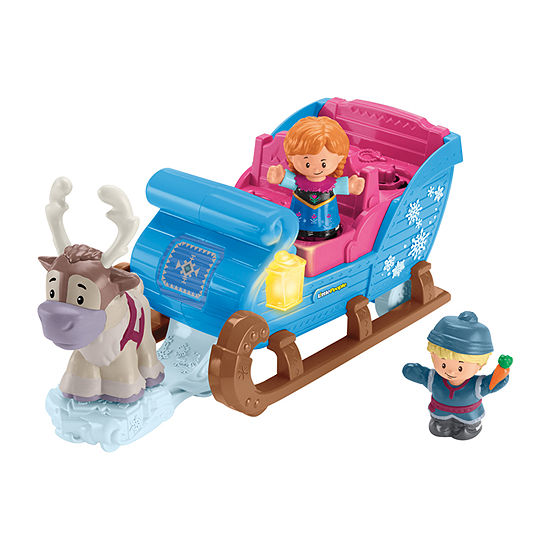 Disney Collection Frozen Kristoff'S Sleigh By Little People