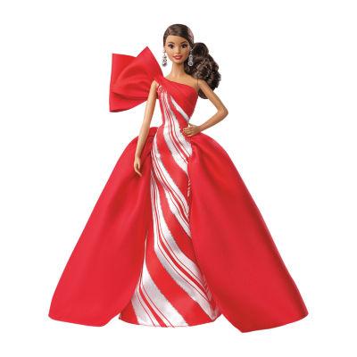 Barbie 2019 Holiday Barbie Doll-Brunette