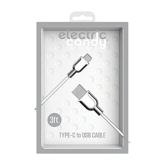 Tzumi Electric Candy 6ft. Type-C Cable