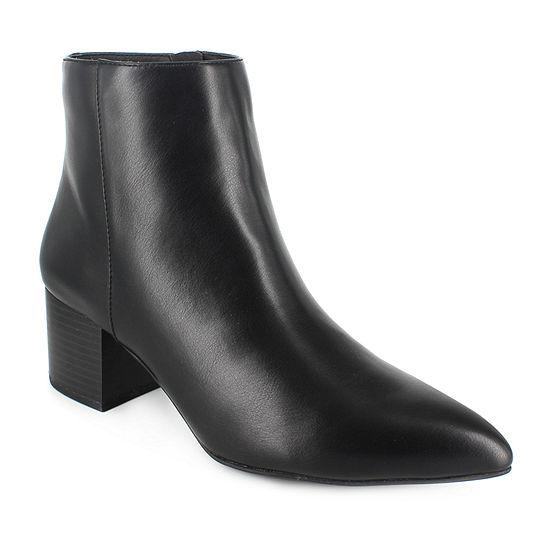 Unionbay Womens Dorothy Dress Boots Block Heel