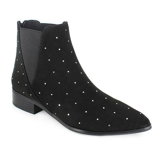 Unionbay Womens Banksy Flat Heel Dress Boots