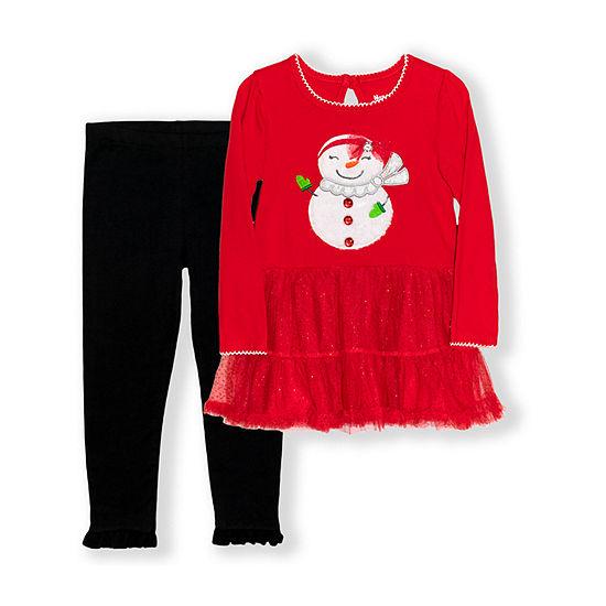 Nannette Baby Toddler Girls 2-pc. Dress Set