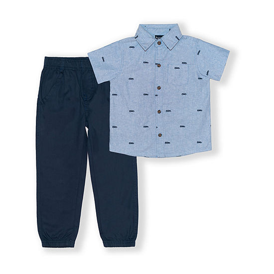 Little Rebels Toddler Boys 2-pc. Pant Set