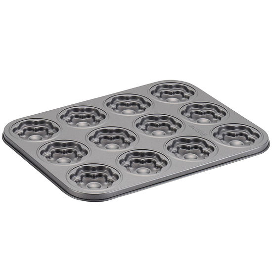 Cake Boss™ Specialty Bakeware 12-Cup Molded Flower Nonstick Cookie Pan