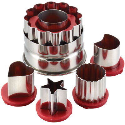 Cake Boss™ Decorating Tools Classic 6-pc. Linzer Cookie Cutter Set