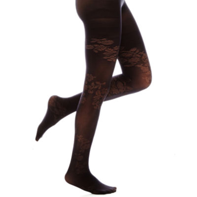 Mixit™ Winding Rose Tights