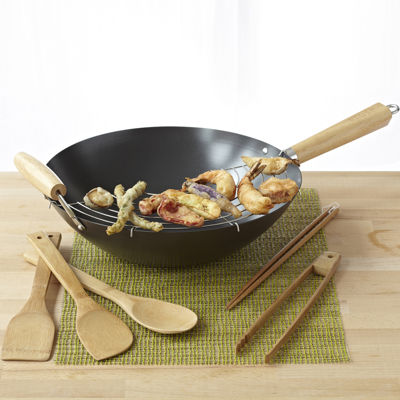 IMUSA® 7-pc. Wok Gift Set