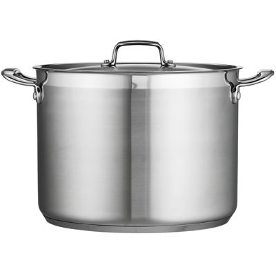Tramontina® Gourmet 16-qt. Tri-Ply Covered Stock Pot