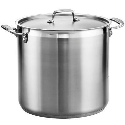 Tramontina® Gourmet 20-qt. Tri-Ply Covered Stock Pot
