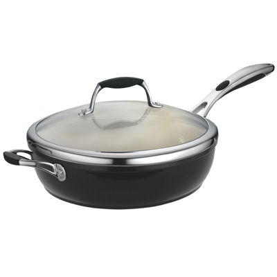 "Tramontina® Gourmet 11"" Ceramica Covered Deep Skillet"