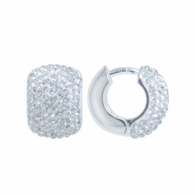 Sparkle Allure 14.2mm Hoop Earrings