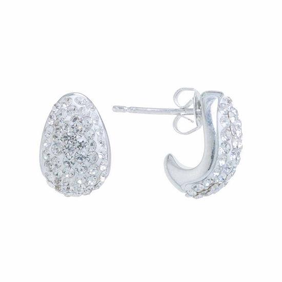 Sparkle Allure 12.7mm Stud Earrings