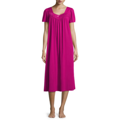 Collette By Miss Elaine Short Sleeve Nightgown