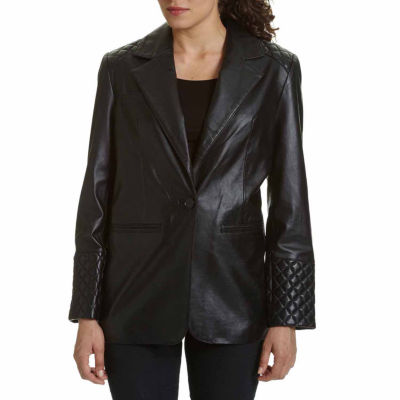 Excelled® Leather Blazer