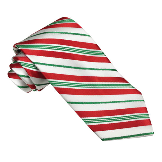 Hallmark® Candy Cane Striped Tie