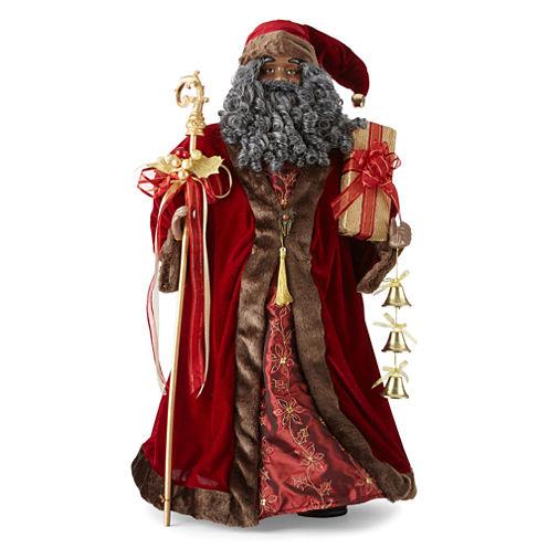 "North Pole Trading Co. 36"" Traditional Santa"