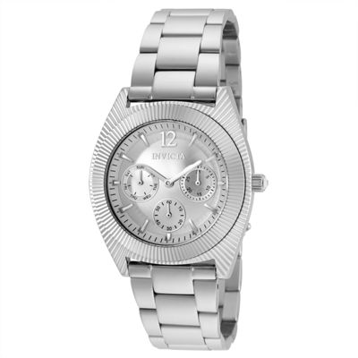 Invicta Angel Unisex Silver Tone Strap Watch-25247