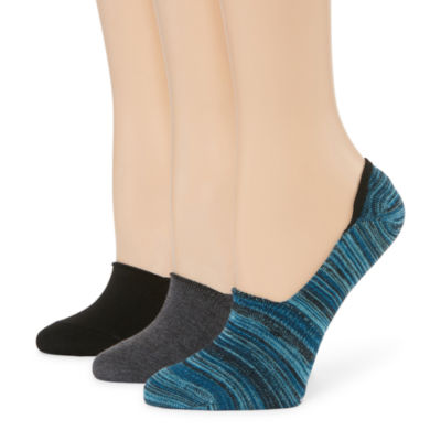 Libby Edelman 3 Pair Knit Liner Socks - Womens