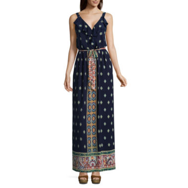 Luxology Sleeveless Maxi Dress