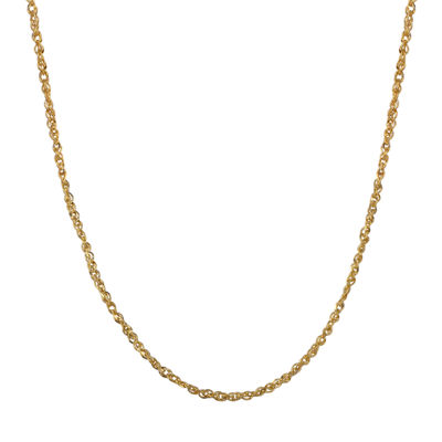 10K Gold Birthstone Babies Chain Necklace