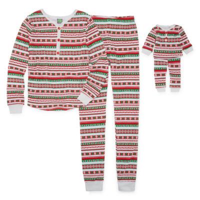 Dollie And Me 2-pack Pant Pajama Set Girls