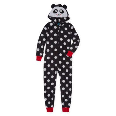 Jelli Fish Kids Long Sleeve One Piece Pajama - Big Kid Girls