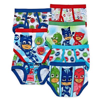 PJ Masks 7PK Briefs-Preschool Boys