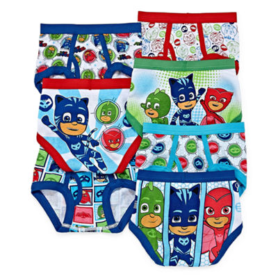 PJ Masks 7PK Briefs-Preschool Boys