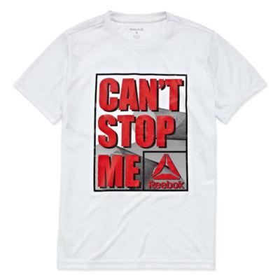 Reebok Graphic T-Shirt-Big Kid Boys