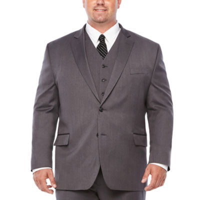 Stafford Classic Fit Stretch Suit Jacket-Big and Tall