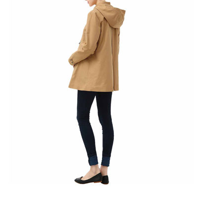 "Glow & Grow Maternity ""Cole"" Hooded Toggle Coat"