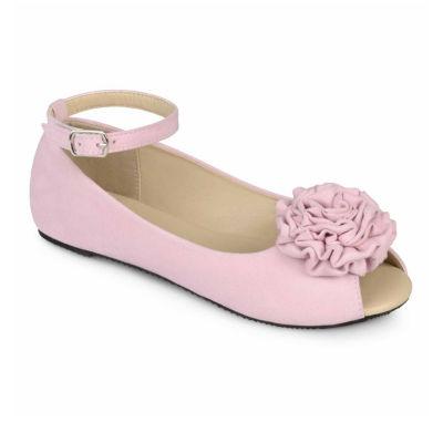 Journee Collection Fleur Girls Ballet Flats - Little Kids/Big Kids
