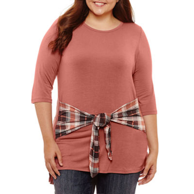 Self Esteem Tunic Top-Juniors Plus