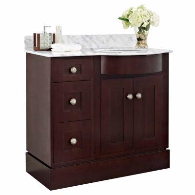 American Imaginations Tiffany Rectangle Floor Mount Single Hole Center Faucet Vanity Set