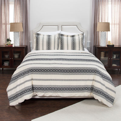 Rizzy Home Knight August Collection 3-pc. Duvet Cover Set